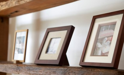 Custom Framing at Art and Framing Gallery (Up to 85% Off). Two Options Available.