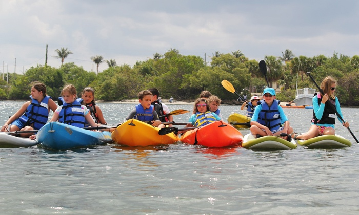 Jupiter Outdoor Center - The River Center: $175 for a Summer Adventure Camp from Jupiter Outdoor Center ($350 Value)