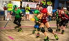 ICT Roller Girls - The Cotillion Ballroom: ICT Roller Girls Roller-Derby Doubleheader for One, Two, or Four at The Cotillion on Saturday, August 17 (Half Off)