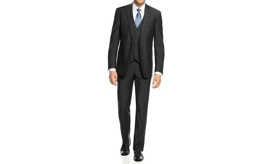 Mdrn Uomo By Braveman Slim Fit Suit 36rx30w Groupon