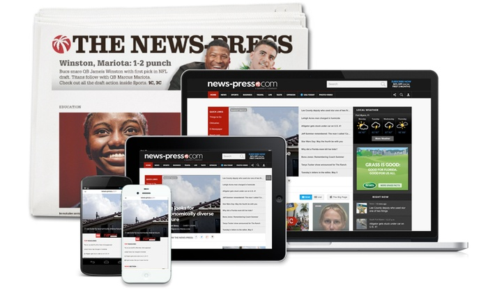 The News-Press: One 52-Week Full-Access or Digital Subscription from The News-Press (Up to 83% Off)