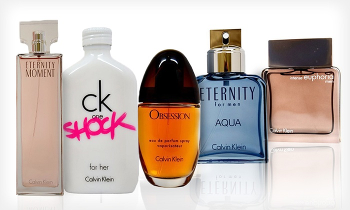 Calvin Klein Fragrances for Men and Women: Calvin Klein Fragrances for Men and Women (Up to 57% Off). Multiple Options Available. Free Shipping.