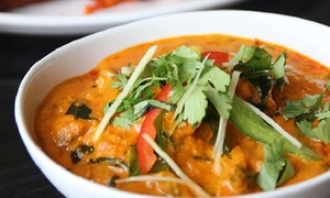 Indian Lounge: Two-Course Indian Dinner for Two ($35), Four ($69) or Six People ($99) at Indian Lounge, Mt Eden (Up to $192 Value)
