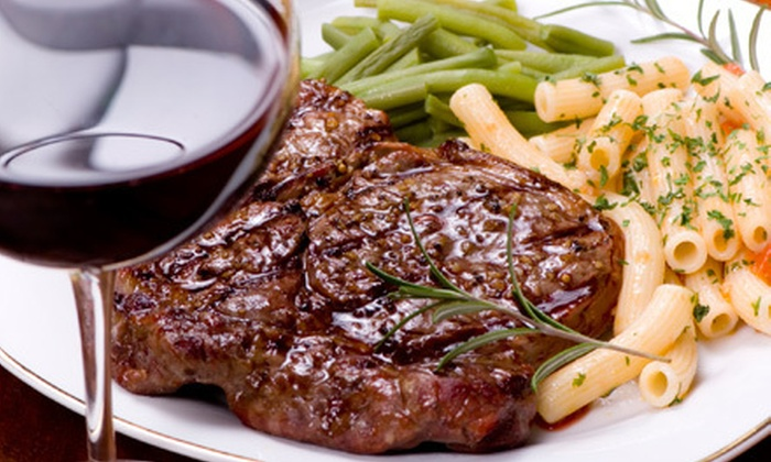 The Ticket Kitchen & Bar - Downtown Vancouver: Three-Course Steak-House Dinner for Two or Four at The Ticket Kitchen & Bar (Up to 63% Off)