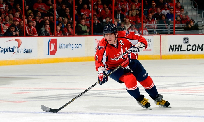 Washington Capitals - Verizon Center: Washington Capitals Pre-Season Game at Verizon Center on September 21 or October 2 (Up to 43% Off)