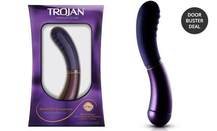 Trojan Midnight Collection Multi-Position 5.3 Vibrator
