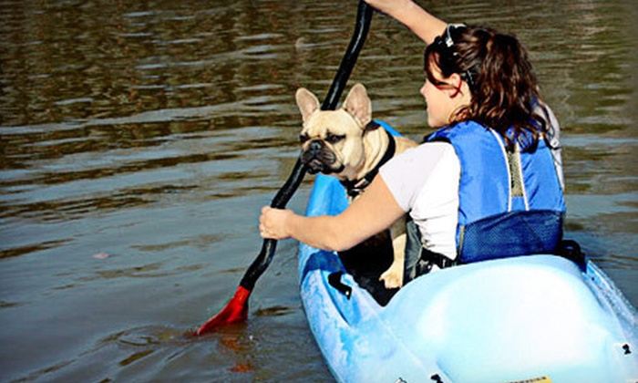 Valley Mill Kayak School - Germantown: Two-Hour Kayak Tour or Three-Hour Paddleboarding or Whitewater-Kayaking Class from Valley Mill Kayak School (53% Off)