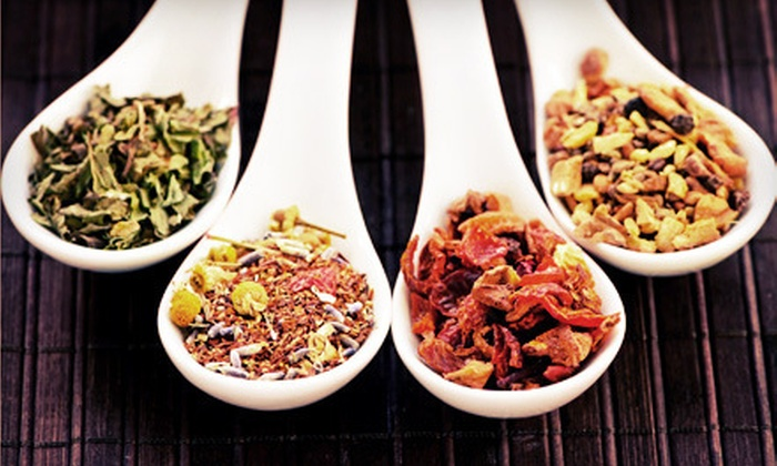 Herbal Infusions Tea Co. - Downtown Toronto: Tea-Blending Workshop and Three Bags of Assorted Tea for One or Two at Herbal Infusions Tea Co. (Up to 60% Off)