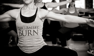Park Cities Dance: Ballet Burn Fitness Classes  at Park Cities Dance (Up to 76% Off). Three Options Available.