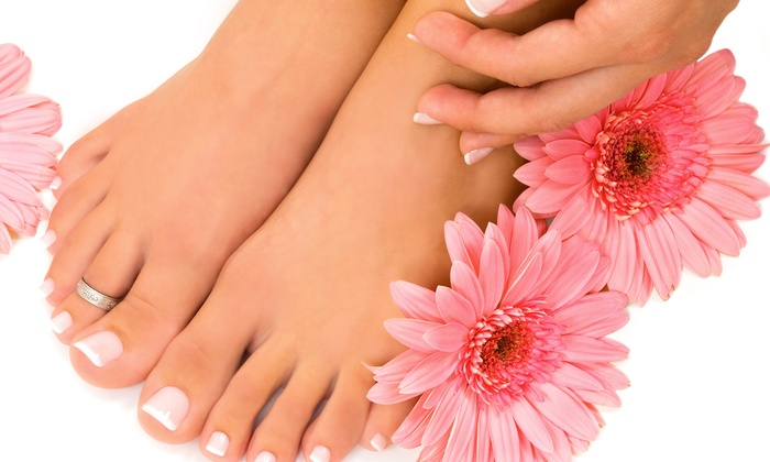 Salon Amarti - Old Town: Mani-Pedi and Haircut Packages at Salon Amarti (Up to 53% Off). Three Options Available.