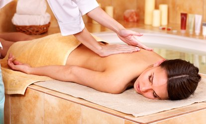 60-Minute Custom Massage with Foot Massage at Lavender Medical & Beauty Spa (58% Off)