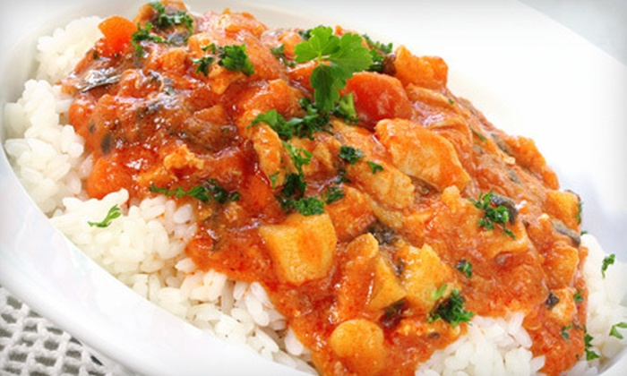 Cafe India - Downtown Nashua: $20 for $40 Worth of Indian Food at Cafe India