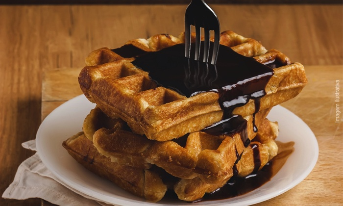 Zaffiro Waffle e Café - Rio de Janeiro: Zaffiro – Leblon: waffles salgados e doces + bebidas, a partir de R$ 39,90
