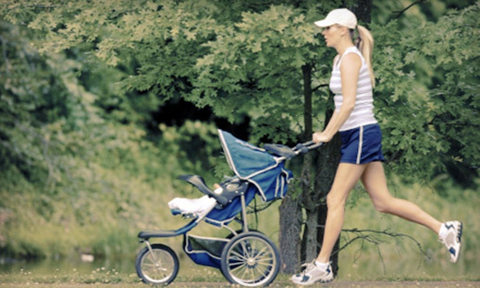 Stroller Strides - Livingston: One Month of Stroller-Fitness Classes, or Five Stroller-Fitness Classes from Stroller Strides (Up to 63% Off)