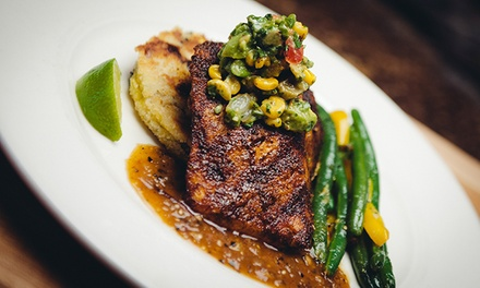 Grilled Meats and Comfort Food for Dinner at Manzana Rotisserie Grill (Up to 30% Off). Two Options Available.