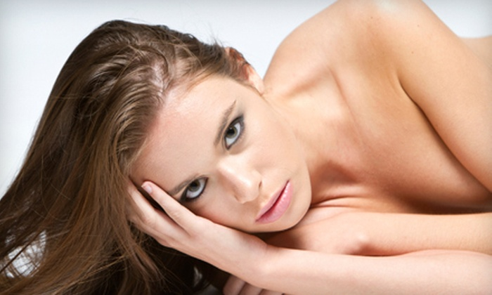 Main Place Salon - Fox Point North: Full Foil Highlights or a Keratin Treatment at Main Place Salon in Barrington (Up to 60% Off)