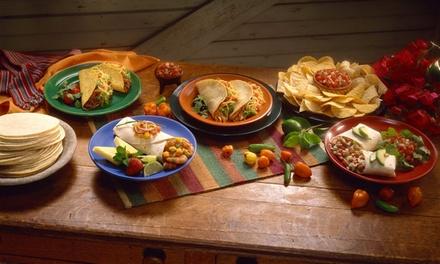 Brunch mexicain à volonté pour 2 ou 4 personnes dès 29 euros au restaurant El Gringo
