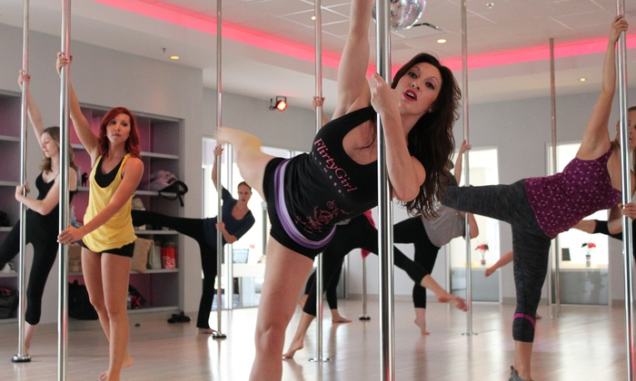 Flirty Girl Fitness - 2215 N. Halsted: $59 for a Lap- or Pole-Dance Workshop Package at Flirty Girl Fitness (Up to $115 Value)