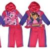 Girls' Character Print Hoodie and Sweatpants Set