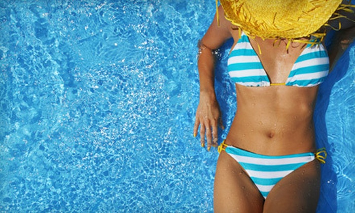 Flawless Color Sunless Tanning - Vista: One, Two, or Three Airbrush-Tanning Sessions from Flawless Color Sunless Tanning (Up to 54% Off)