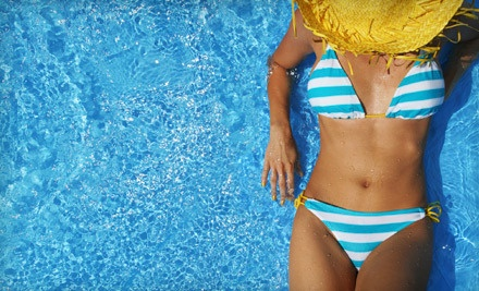 One, Two, or Three Airbrush-Tanning Sessions from Flawless Color Sunless Tanning (Up to 54% Off)