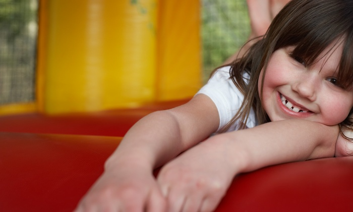 Peques Parties - Joshua: $165 for $300 Worth of Moonwalk Rental — Peques Parties