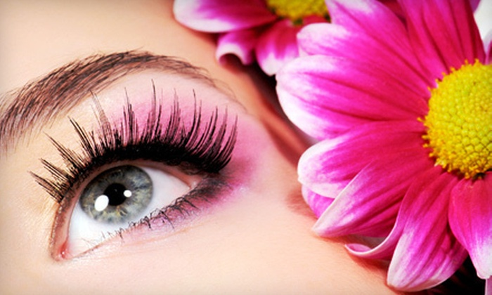 The Beauty Centre Spa - Brandon: Full Set of Eyelash Extensions with an Option for Three Touchups at The Beauty Centre Spa (Up to 67% Off)