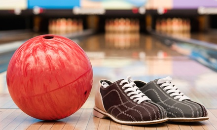Two Games of Bowling for Two, Four, or Six with Shoe Rental at Jib Lanes (Up to 53% Off)