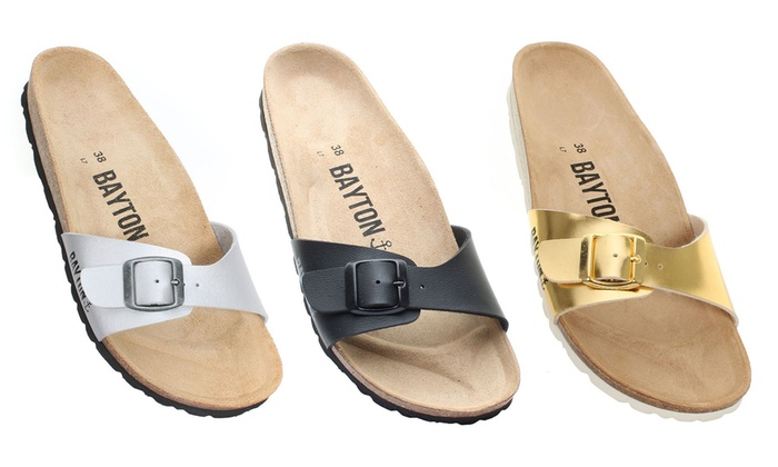 100% genuine low priced exclusive shoes Mules pour femme Bayton | Groupon Shopping
