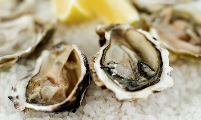 Tom's Oyster Bar - Royal Oak: $12 for $25 Worth of Seafood and Drinks at Tom's Oyster Bar
