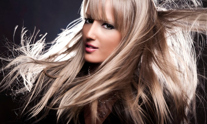 Kim McEntire at Four Seasons Salon - Summerlin: Hair Extension Installation, or Haircut with Full Color with Kim McEntire at Four Seasons Salon (Up to 83% Off)