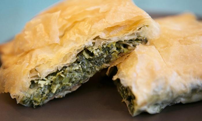 Greek 4 U Restaurant - Tuckahoe: Greek Cuisine at Greek 4 U Restaurant (Up to 50% Off). Two Options Available.