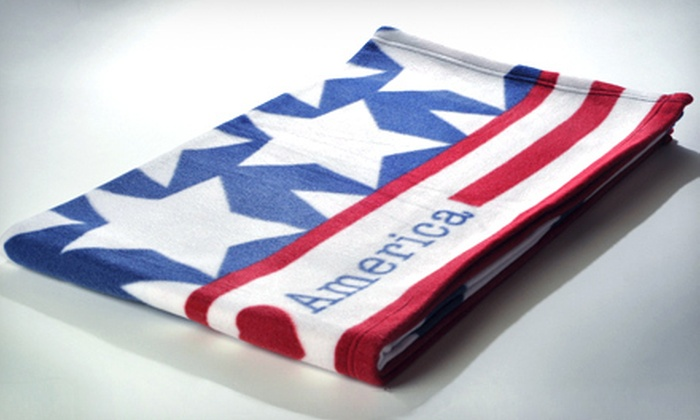 $19 for a Blanket America Super-Soft Plush Throw ($50 Value). Six Styles Available.