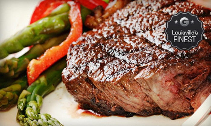 Cast Iron Steak House - Prospect: Steak, Seafood, and American Fare for Two or Four at Cast Iron Steak House (Half Off)