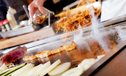 Japanese Dinner for Two, Four, or More at Hibachi Bar and Sushi at Hibachi Bar and Sushi (Up to 48% Off).