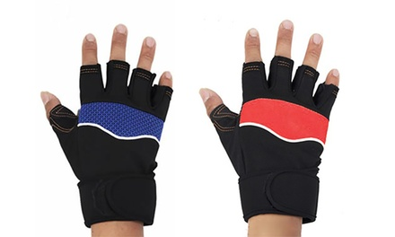 Padded Gym Gloves in Choice of Colour