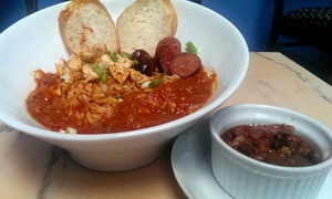 NOLA Bistro & Lounge: $10 for $24 Worth of New Orleans Creole Cuisine at NOLA Bistro & Lounge