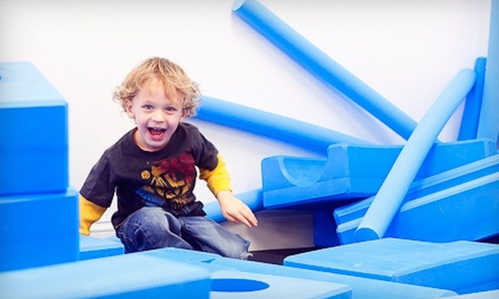 play. - Okemos: Three or Six Kids' Open-Play Visits at play. (Up to 58% Off)