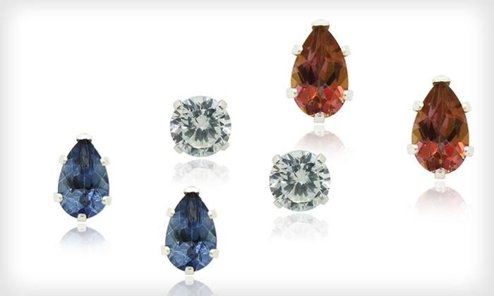 Topaz Stud Earrings : Topaz Stud Earrings (91% Off). Multiple Options Available. Free Returns.