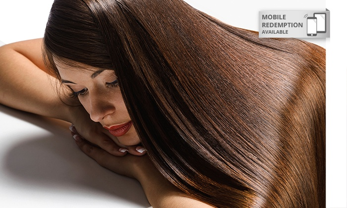 FMK Hair Design - Onehunga: $99 Keratin Hair Straightening Treatment at First Millennium Hair Design, Onehunga ($450 Value)