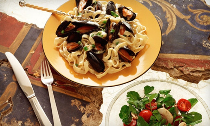 Mediterranee Restaurant - Great Falls: French-Mediterranean Cuisine for Dinner or Lunch at Mediterranee Restaurant (Half Off)