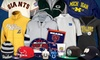 SportsFreak365.com **DNR**: College and Pro-Sports Apparel and Accessories with Free Shipping from SportsFreak365 (Up to 54% Off)