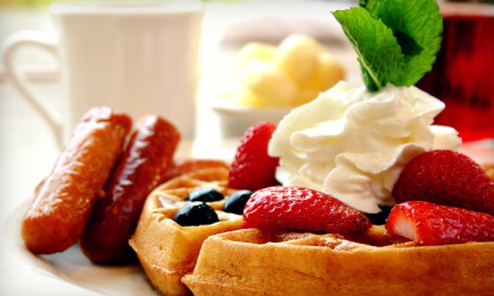 JP Pancake - McCormick Ranch: Breakfast Cuisine on Monday—Saturday or Sunday at JP Pancake (Half Off)