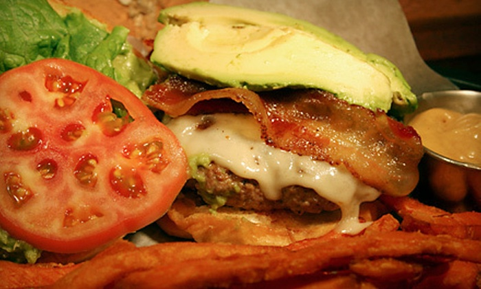 Basement Burger Bar - Downtown Farmington: $8 for $16 Worth of Pub Fare and Drinks at Basement Burger Bar in Farmington