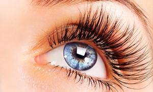 OrTANic Custom Airbrush UltraLounge: Mink Eyelash Extensions with Optional Lash-Growth Serum at OrTANic Custom Airbrush UltraLounge (Up to 67% Off)
