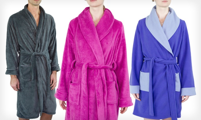 Intimo Women's and Men's Spa Robes: Intimo Women's and Men's Spa Robes (Up to 75% Off). 31 Options Available.