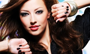 Simply Beautiful Studio: Cut and Wash with Conditioning or Partial or Full Highlights at Simply Beautiful Studio (Up to 75% Off)