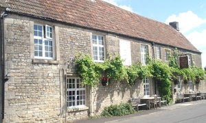 Whitehart Inn: Two-Course Meal with Wine for Two or Four at Whitehart Inn (Up to 53% Off)
