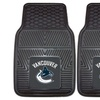 Fanmats NHL Vinyl Car Mats (2-Pack)