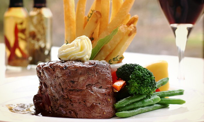 Blackstones Steakhouse - Mount Kisco: Prix-Fixe Dinner or Takeout at Blackstones Steakhouse (Up to 50% Off). Choose from Five Options.